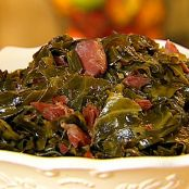 Collard & Mustard Greens with Bacon