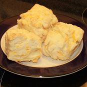 Garlic Cheese Buttermilk Biscuits