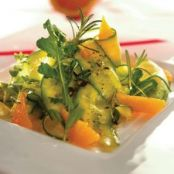 HCG Diet Cucumber Orange Salad