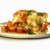 LASAGNA WITH ROASTED-EGGPLANT RICOTTA FILLING