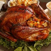 Step-by-Step Classic Roast Turkey with Herbed Stuffing & Old-Fashioned Gravy