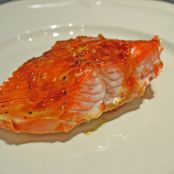 Salmon: Spicy Sweet Glazed