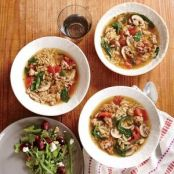 Italian Turkey & Orzo Soup