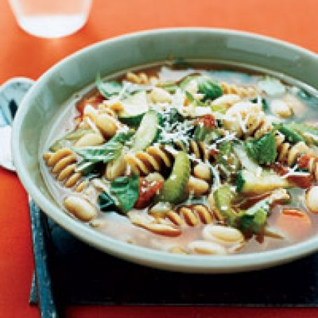 Minestrone Soup-Variation for Soup Diet Basic Recipe