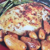 Baked Chicken Breasts with Fingerling Potatoes