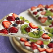 Mixed-Fruit Tart with Coconut Crust (betty crocker)