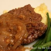Salisbury Steaks with Onion Gravy