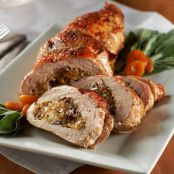 Chestnut & Apricot-Stuffed Turkey Breast