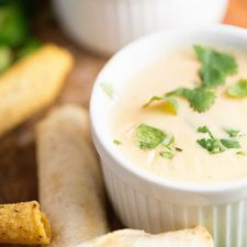 3 Ingredient White Queso Dip