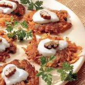 Sweet Potato Mini-Latkes
