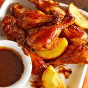 Peachy Barbecue Chicken-Slow Cooker