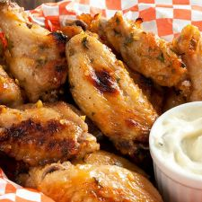 Garlic Chicken Wings