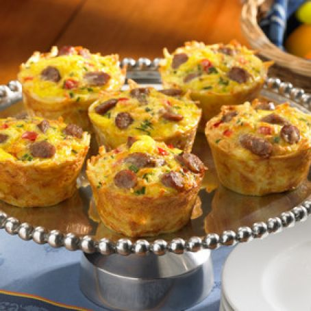 Breakfast: Hash Brown Casserole Muffin Cups