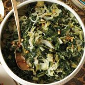 Pine-Nutty Swiss Chard