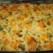 Turkey and Stuffing Bake (Sour Cream)
