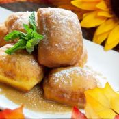 ZZ Pumpkin Beignets (Disney's Club 33)