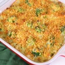 Broccoli and Orzo Casserole