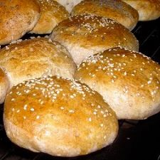 Bread Machine Whole Wheat Hamburger & Hot Dog Buns