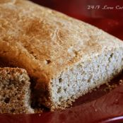 Low Carb Almond Butter Bread