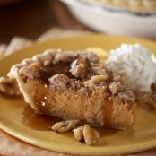 Sweet Potato Pie with Walnut-Streusel Topping