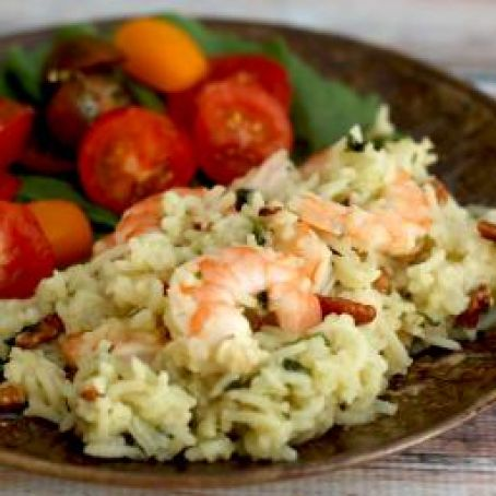 Shrimp and Rice Bake