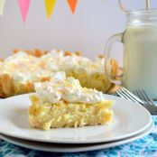 Irish Lemon Pudding Tart