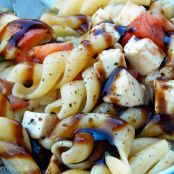 Caprese Pasta Salad with Mozzarella