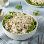 Lightened Up Creamy Chicken Salad