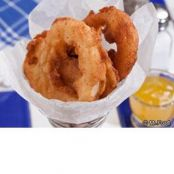 Sweet and Hot Onion Rings