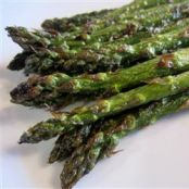 Grilled Garlic Asparagus