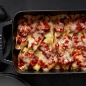 Sausage-Spinach Stuffed Shells