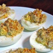 Emeril's Crab Meat Deviled Eggs