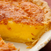 Orange Buttermilk Chess Pie