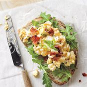 Egg Salad Sandwiches with Bacon and Sriracha (Cooking Light)