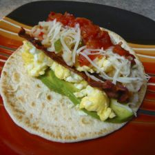 Bacon & Avocado Breakfast Tacos