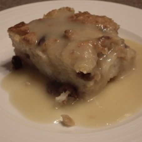 Bread Pudding - With Wild Turkey Sauce