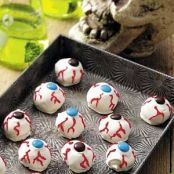 Scary Eye Ball Cookies