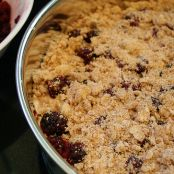 Olallieberry Apple Crisp