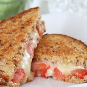 Gourmet Tomato Grilled Cheese