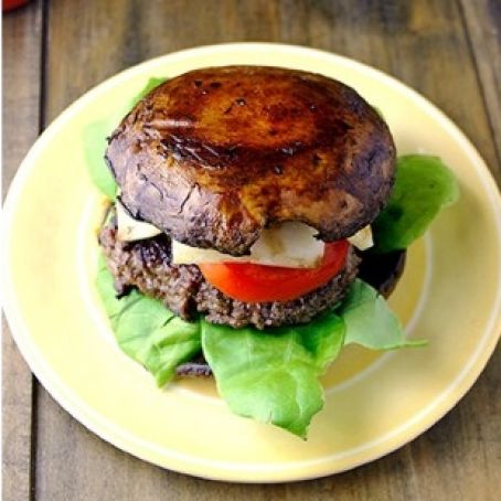 Bunless Portobello Burger Recipe 4 4 5
