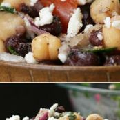 Chickpea And Black Bean Salad