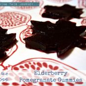 Elderberry Pomegranate Gummies