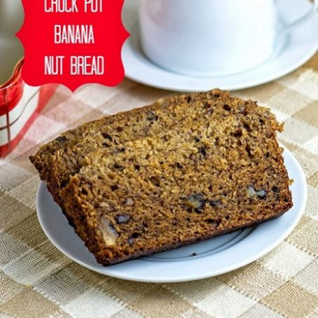 Crock Pot The Best Banana Nut Bread