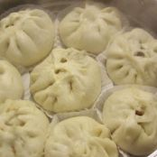 Korean Steamed Pork Buns