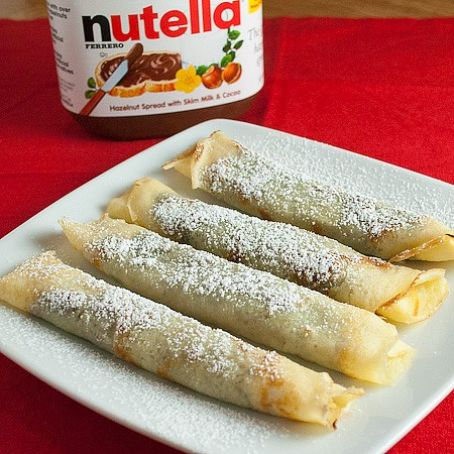 Nutella Crepes
