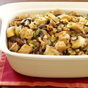 Savory Stuffing with Mushrooms, Onions & Walnuts