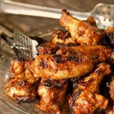 Smoky BBQ Wings