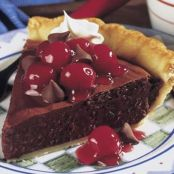 Easy MINI KISSES Choco-Cherry Pie