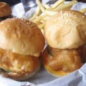Beer Battered Cod Slider