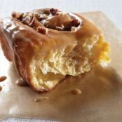 Sweet Potato and Pecan Cinnamon Buns with Maple Glaze